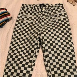 UO Checkered Jeans